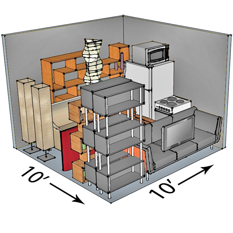 10x10 Self Storage Unit